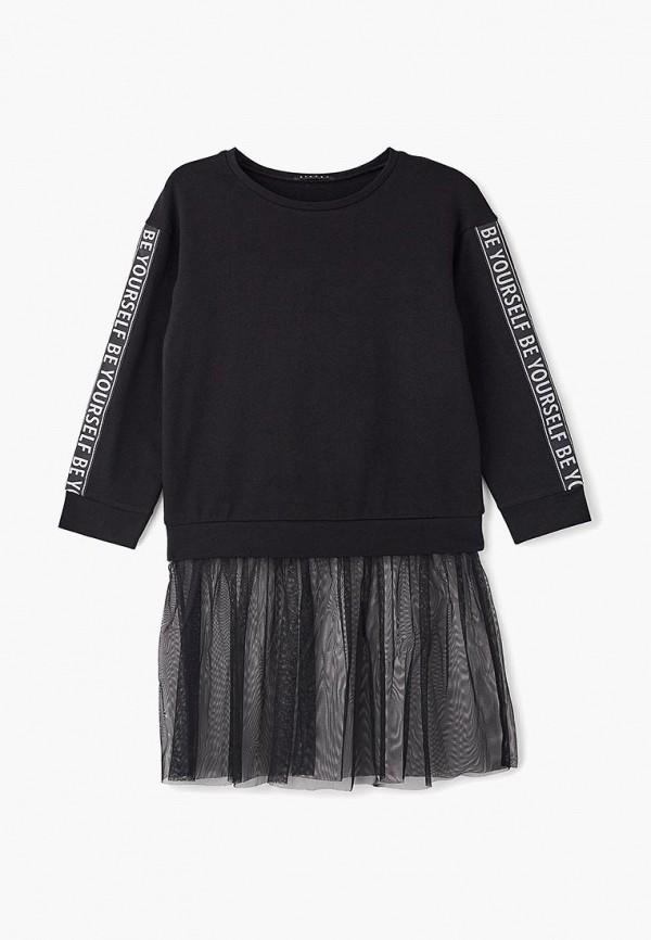 Купить Платье Sisley, SI007EGBYSK8, черный, Осень-зима 2018/2019