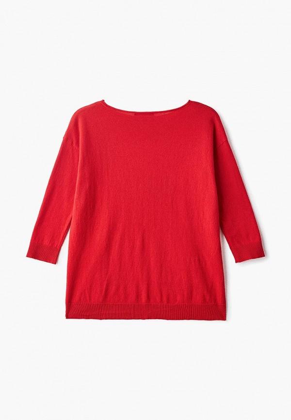 Фото 2 - Джемпер Sisley красного цвета