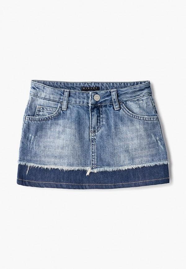 Купить Юбка джинсовая Sisley, si007egdwxd3, синий, Весна-лето 2019