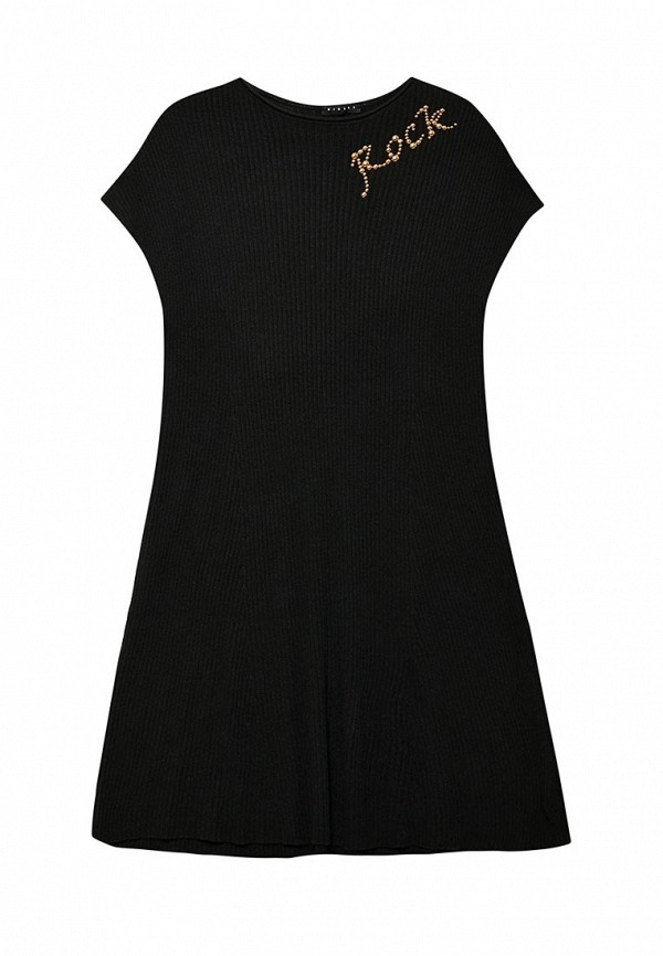 Купить Платье Sisley, SI007EGWLL29, черный, Весна-лето 2018
