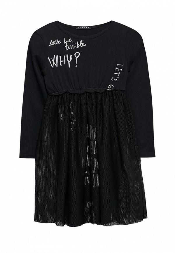 Купить Платье Sisley, SI007EGWLL62, черный, Весна-лето 2018
