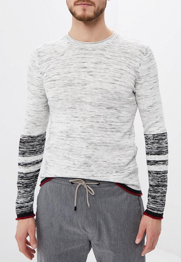 Фото - мужское джемпер Sisley белого цвета