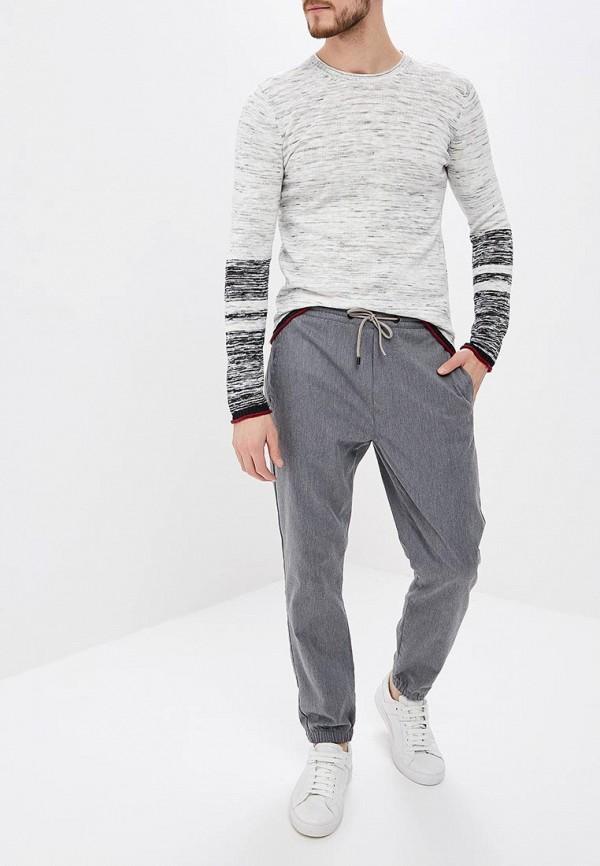 Фото 2 - мужское джемпер Sisley белого цвета