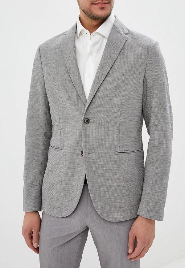 мужской пиджак sisley, серый