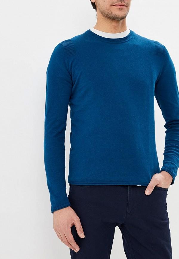 мужской джемпер sisley, синий