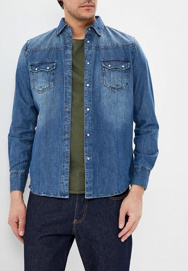 Рубашка джинсовая Sisley Sisley SI007EMDWXF8 рубашка sisley sisley si007emdwws1
