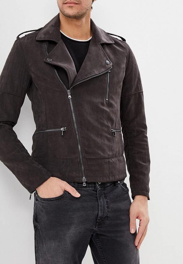 Купить Куртка кожаная Sisley, si007emdwxg5, серый, Весна-лето 2019