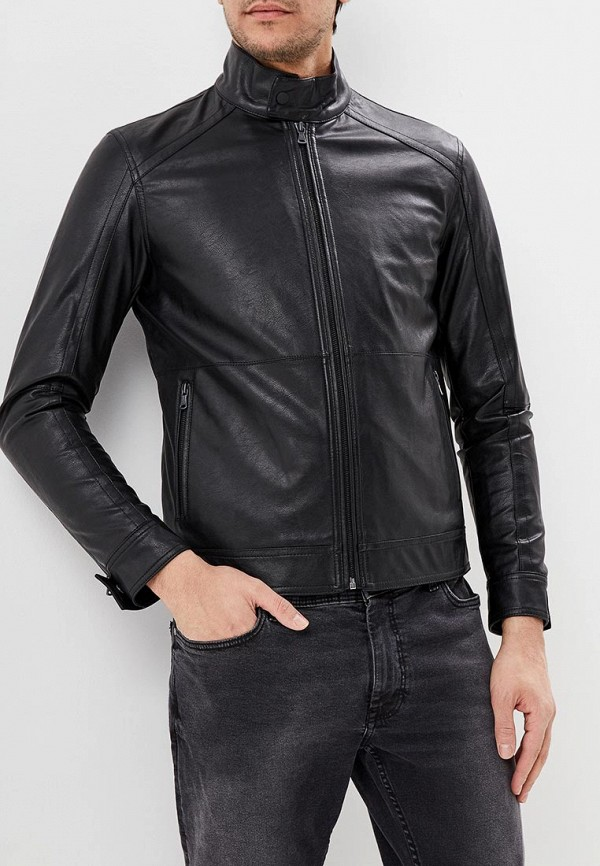 Куртка кожаная Sisley Sisley SI007EMDWXG6 свитшот sisley sisley si007egwll95