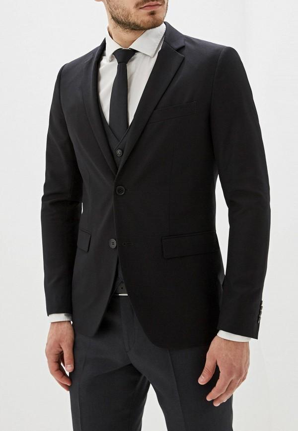мужской пиджак sisley, черный
