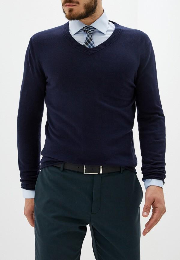 мужской пуловер sisley, синий