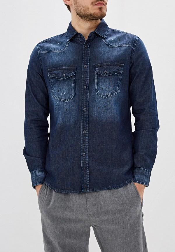 Рубашка джинсовая Sisley Sisley SI007EMFUGD7 рубашка sisley sisley si007emdwws1