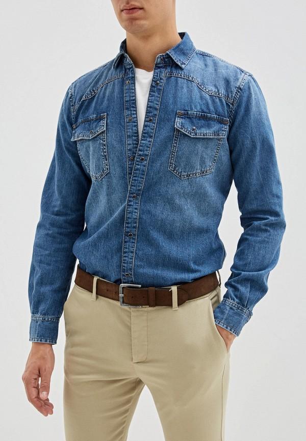 Рубашка джинсовая Sisley Sisley SI007EMFUGD8 рубашка sisley sisley si007emdwws2