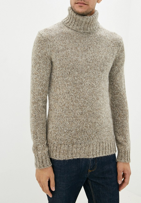 мужской свитер sisley, бежевый