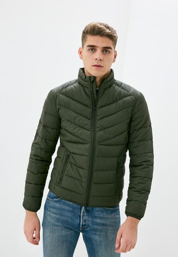 мужская куртка sisley, хаки