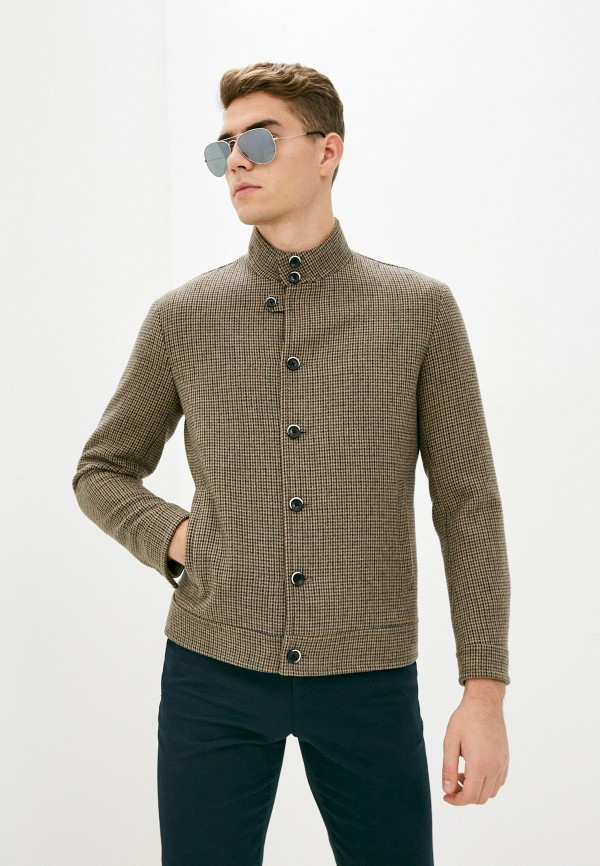 мужское пальто sisley, бежевое