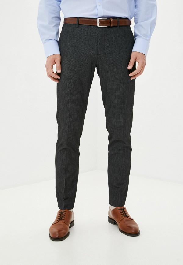 мужские классические брюки sisley, серые