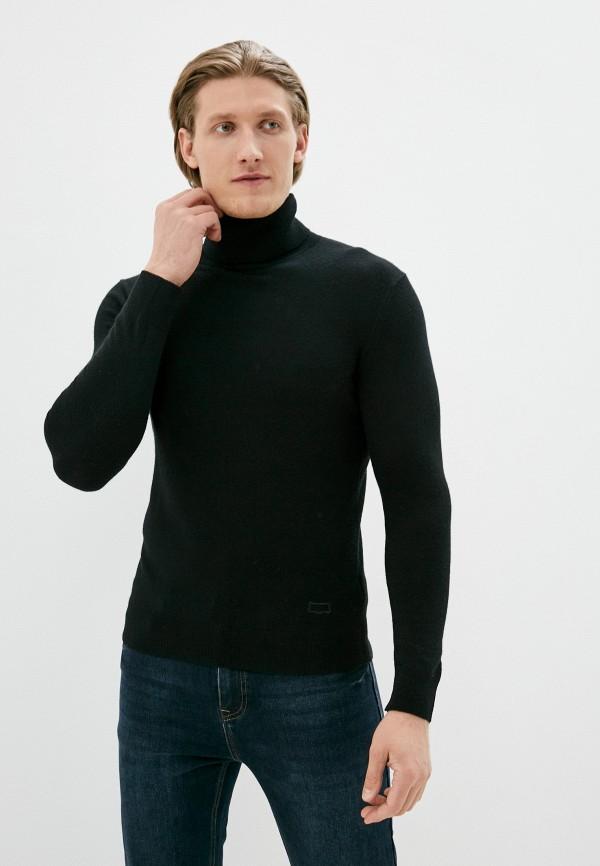 мужская водолазка sisley, черная