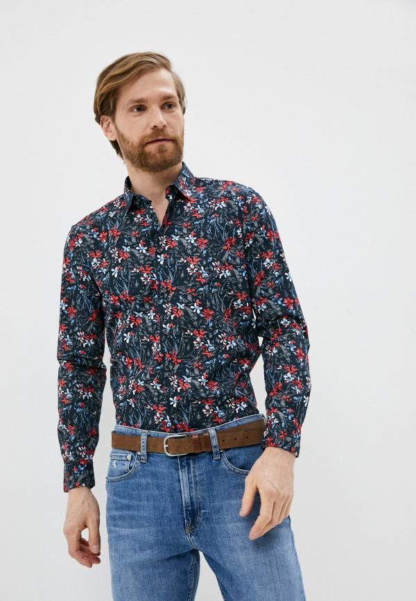 мужская рубашка sisley, черная