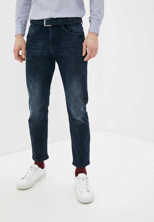 мужские прямые джинсы sisley, синие