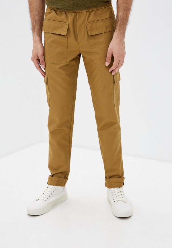мужские брюки sisley, коричневые