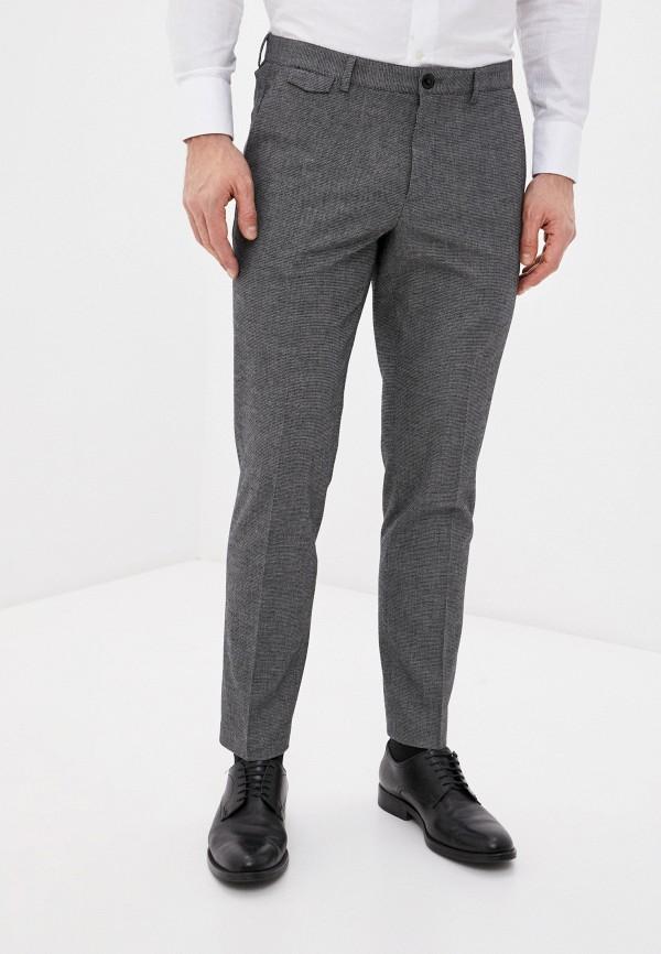 мужские брюки чинос sisley, серые