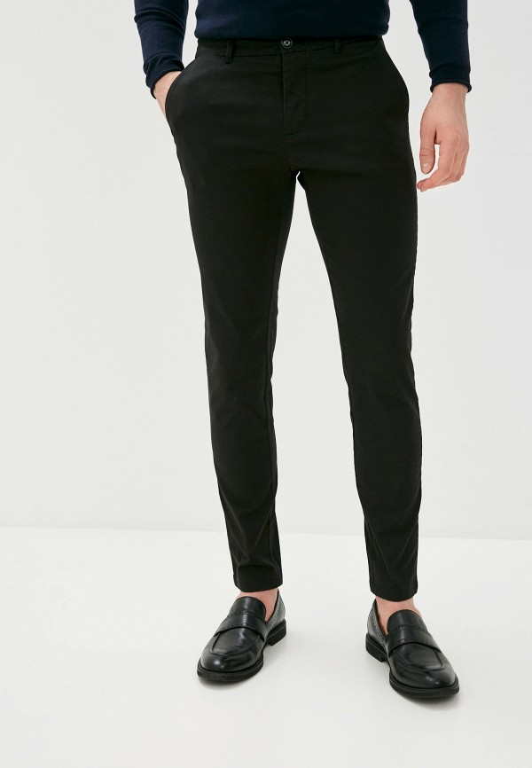 мужские повседневные брюки sisley, черные
