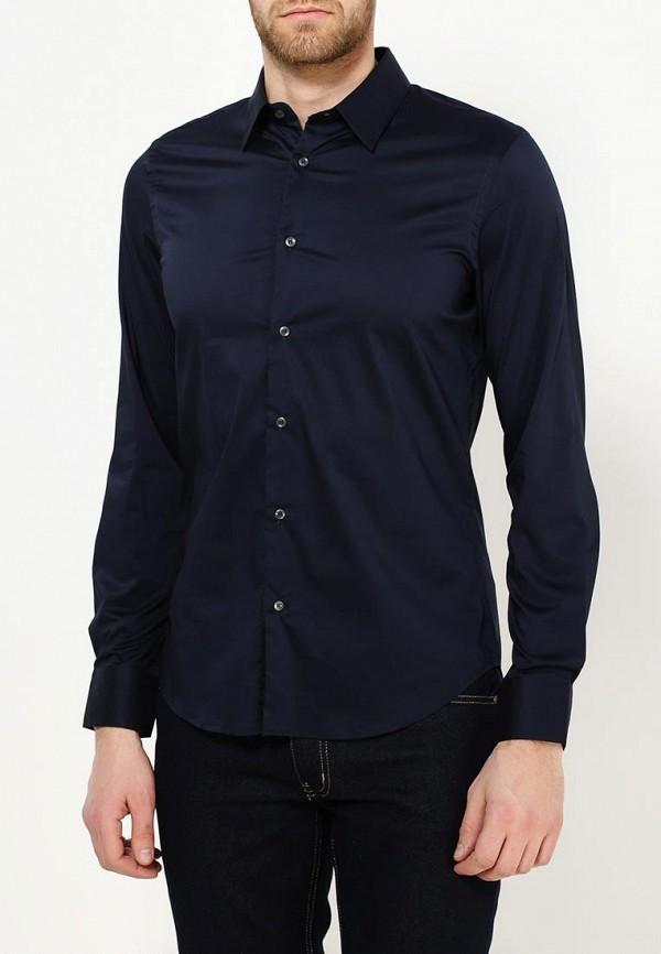 Купить Рубашка Sisley, SI007EMPNI48, синий, Осень-зима 2018/2019