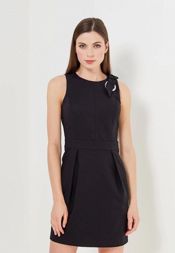Купить Платье Sisley, SI007EWAGGM9, черный, Весна-лето 2018