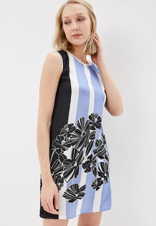 Купить Платье Sisley, SI007EWAGGO5, синий, Весна-лето 2018