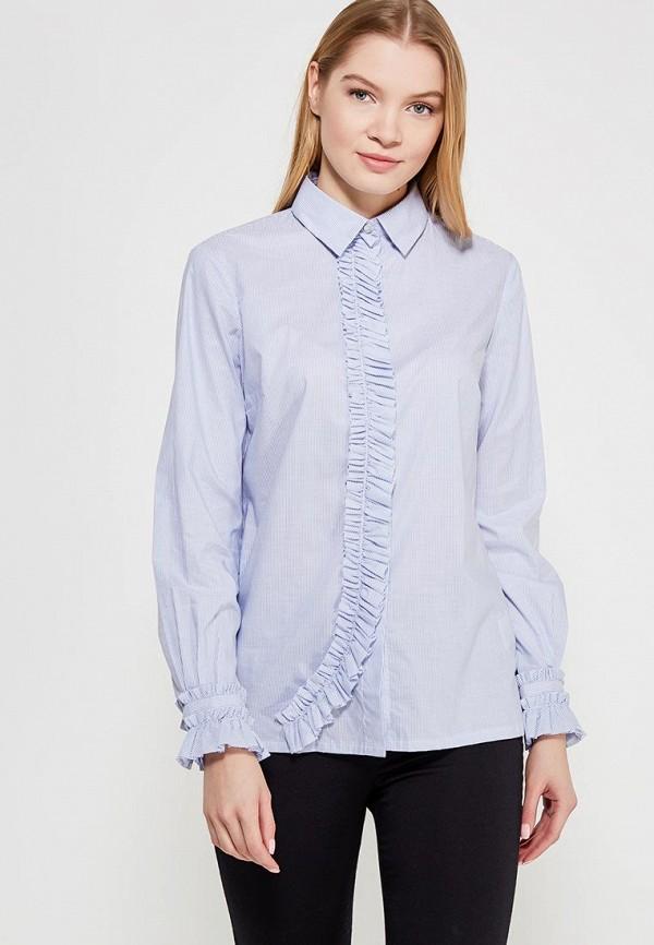 Купить Блуза Sisley, SI007EWAGGQ2, голубой, Весна-лето 2018