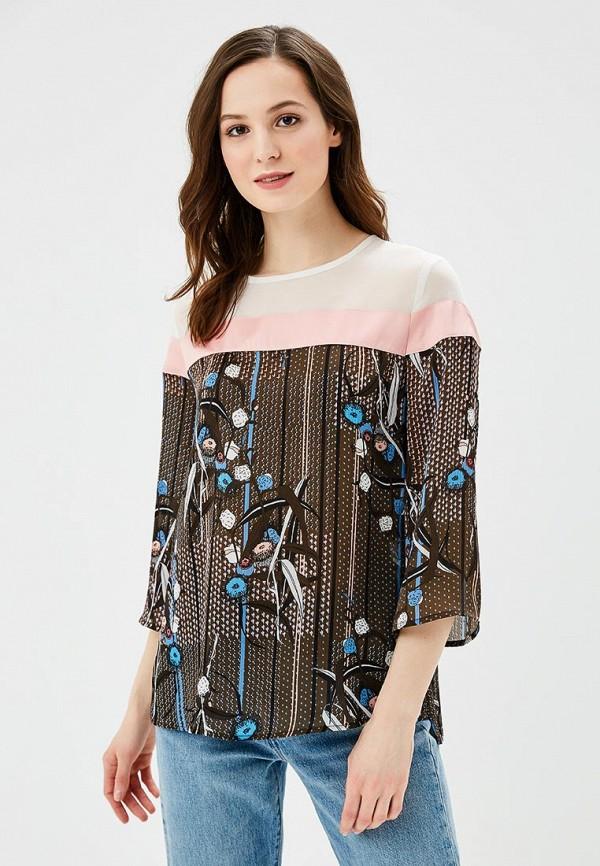 Блуза Sisley Sisley SI007EWAGGQ3 блуза sisley sisley si007ewxoc02
