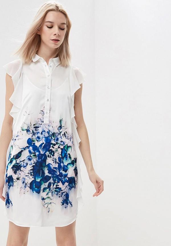Купить Платье Sisley, si007ewarto9, белый, Весна-лето 2018