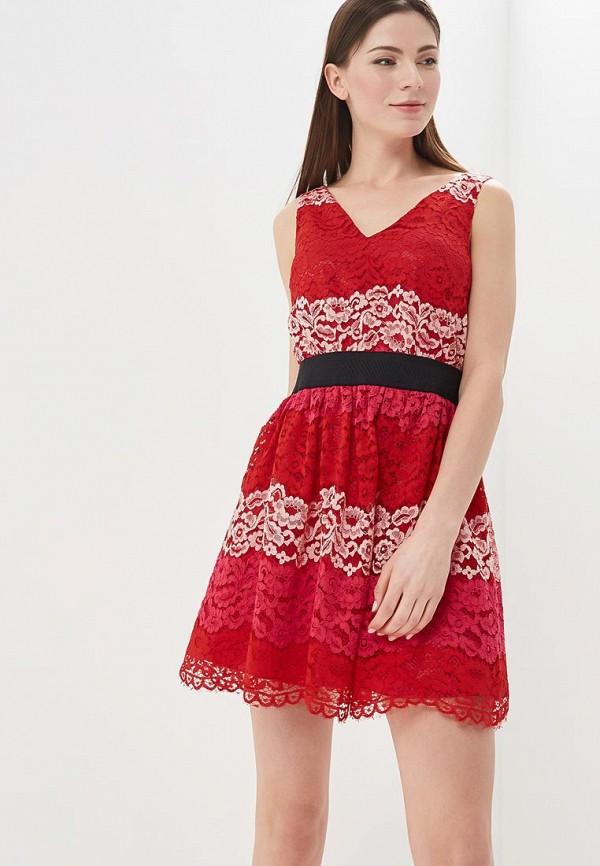 Купить Платье Sisley, si007ewartq3, красный, Весна-лето 2018