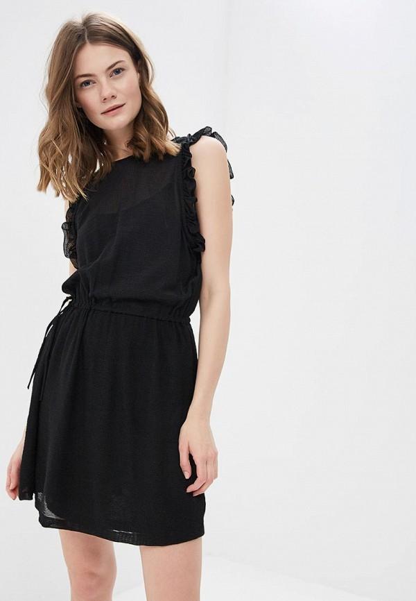 Купить Платье Sisley, si007ewartr6, черный, Весна-лето 2018