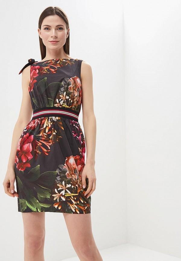 Купить Платье Sisley, SI007EWARTR8, черный, Весна-лето 2018