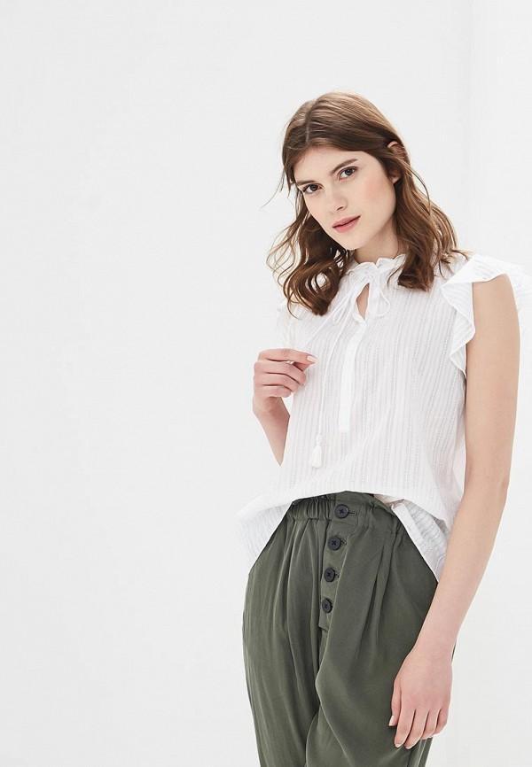 Купить Блуза Sisley, SI007EWARTS9, белый, Весна-лето 2018
