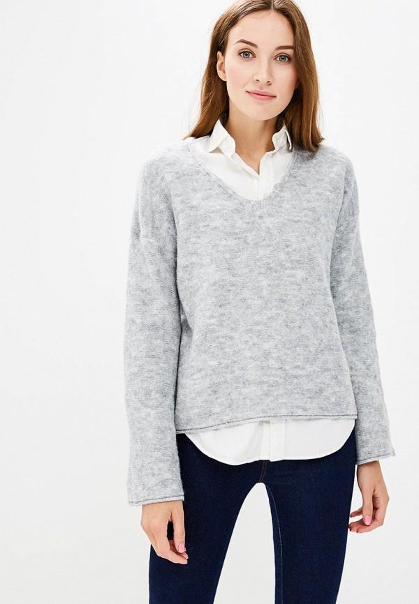 Купить Пуловер Sisley, SI007EWCCMQ4, серый, Осень-зима 2018/2019