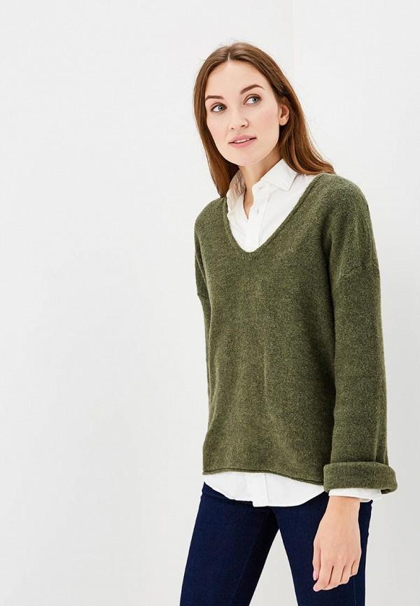 Пуловер Sisley, SI007EWCCMQ5, зеленый, Осень-зима 2018/2019  - купить со скидкой