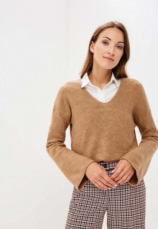 Купить Пуловер Sisley, SI007EWCCMQ7, бежевый, Осень-зима 2018/2019