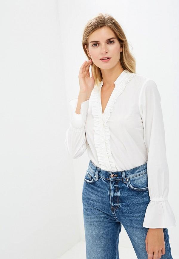 Купить Рубашка Sisley, SI007EWCCMX1, белый, Осень-зима 2018/2019