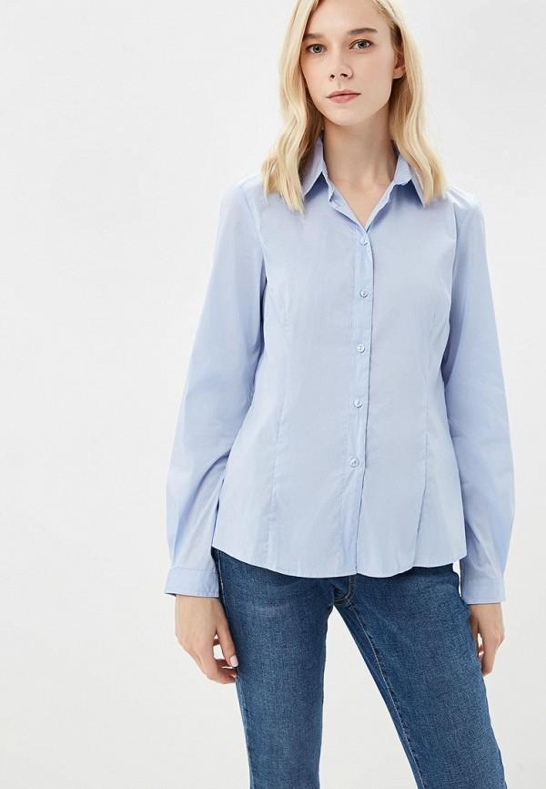 Купить Рубашка Sisley, SI007EWCCMX4, голубой, Осень-зима 2018/2019