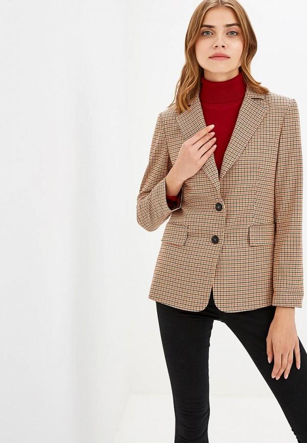 Купить Пиджак Sisley, SI007EWCCNJ9, коричневый, Осень-зима 2018/2019