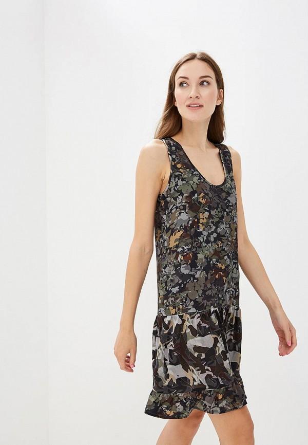 Купить Платье Sisley, SI007EWCCNM6, хаки, Осень-зима 2018/2019