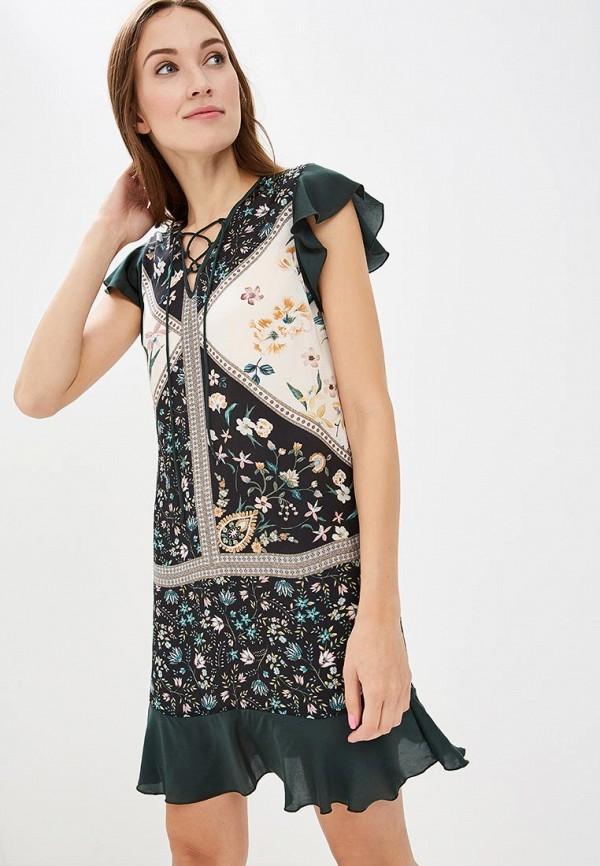 Купить Платье Sisley, SI007EWCCNM7, зеленый, Осень-зима 2018/2019