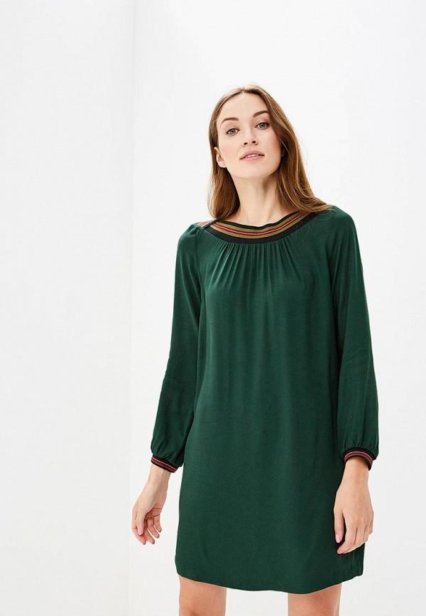 Купить Платье Sisley, SI007EWCCNN3, зеленый, Осень-зима 2018/2019