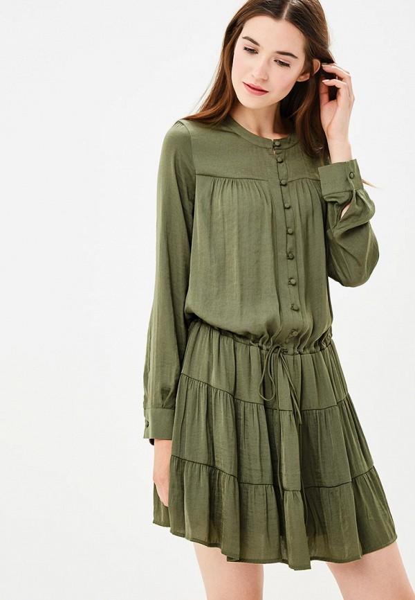 Купить Платье Sisley, SI007EWCCNN5, хаки, Осень-зима 2018/2019
