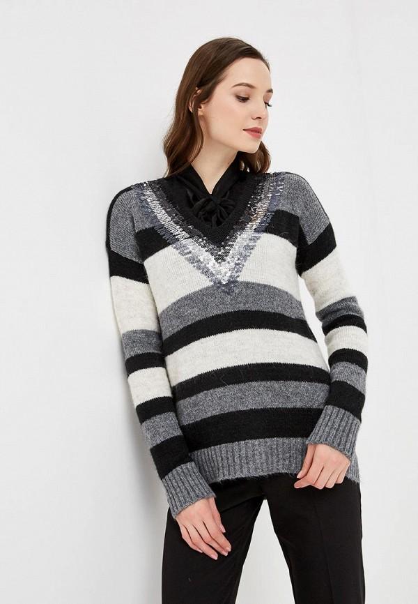 Купить Пуловер Sisley, SI007EWCCNQ8, серый, Осень-зима 2018/2019