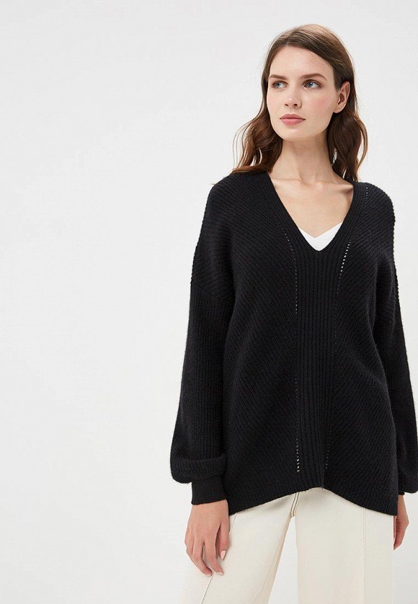 Купить Пуловер Sisley, SI007EWCCNR0, черный, Осень-зима 2018/2019
