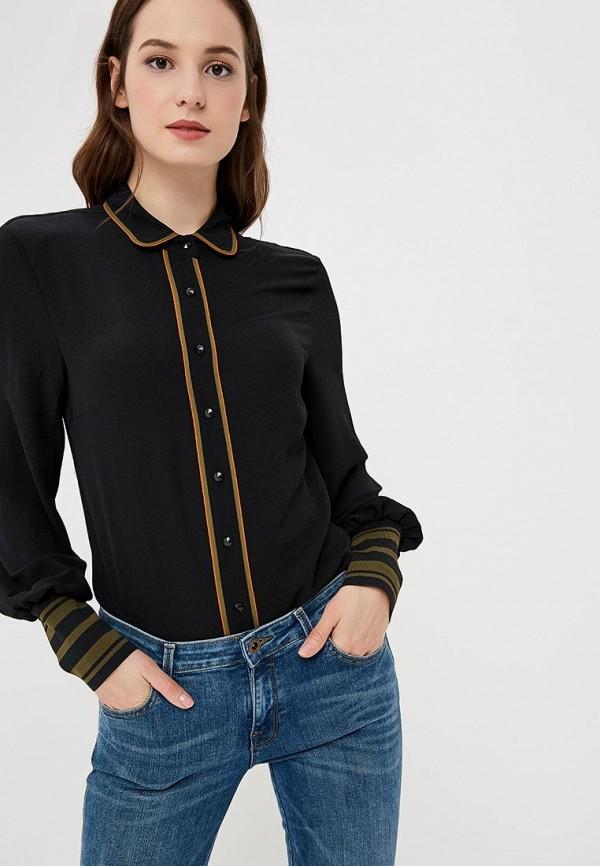 Купить Блуза Sisley, SI007EWCCNS5, черный, Осень-зима 2018/2019