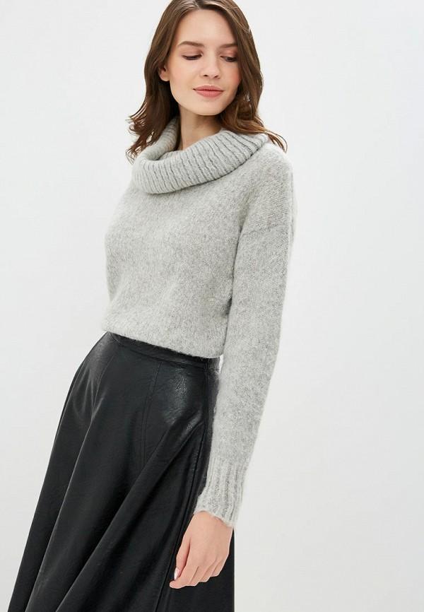 Купить женский свитер Sisley серого цвета